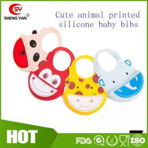 Best Soft Wipe Clean Waterproof Silicone Baby Bibs - BPA Free - FDA Approved wholesale