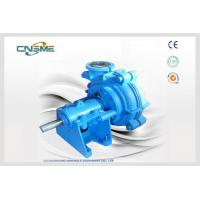 Best Closed Impeller 4 Inch Rubber Lined Slurry Pumps Handleing Abrasive Slurries wholesale