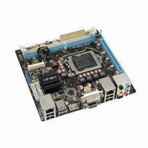 Best Mini-ITX Motherboard, Supports Core i7, i5,i3 LGA1155 USB3.0 Integrated HDMI, DVI, VGA Dual LAN wholesale