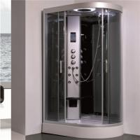 Cheap All In One Shower Stall P Shaped Shower Enclosure With Sitting Tub Sanitary Ware for sale