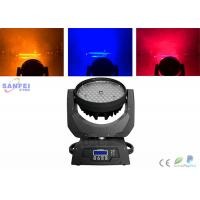 Best 108pcs 3w RGBW LED Beam Moving Head Light , Moving Head Wash Light  For Home Party DJ wholesale
