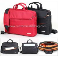 China Red Ladies Oxford Briefcase 14 Inch Laptop Bags for Business / Documents on sale