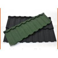 Best 1340x420mm Galvalume Steel Sheet Material Stone Coated Steel Roofing Eco Friendly wholesale