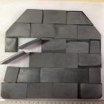 Best Ballistic Tiles NIJ III high level bullet proof panel ballistic plate single-curve pure Armored UHMWPE plate wholesale