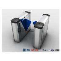 Cheap 304 Stainless Steel Heavy Duty Automatic Flap Barrier Turnstile For Entrance & Exit Control System for sale
