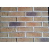 Best Lightweight Artificial Outdoor Faux Brick Panels For Apartment / Hospital / University wholesale