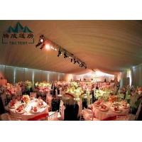 Best Marquee Gazebo Wedding Event Tents With Sandwich Panel And Wall Curtain wholesale