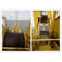 Best Small Size Tower Crane Winch 6 Ton / 8 Ton With Special Drum Grooving wholesale