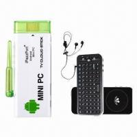 Best TV dongle stick, iPazzport 4G flash dual processor, supports voice control smart TV box wholesale