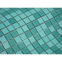 Best Cheap Blue mixed swimming pool rubber tile wholesale