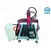 China Hobby CNC Router Machine 0609 for Aluminum Wood MDF With Rotary on sale