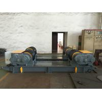 Quality Dual PU Wheel Welding Pipe Turning Rolls / Conventional Welding Rotator Loading 200T Pressure Vessel wholesale