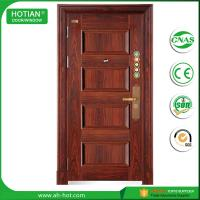 Best house residential wrought iron steel door wholesale