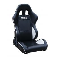 Best Black / White Custom Racing Seats Fully Reclinable 89 * 69 * 55 cm wholesale