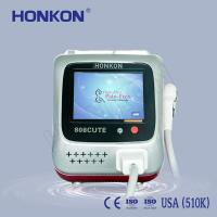 Best Arms / Armpits / Chest 808nm Diode Laser For Hair Removal With Sliding And Flash Mode wholesale