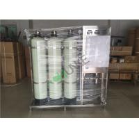 China SS304 Reverse Osmosis Water Purification Equipment With Sand Carbon Filter on sale