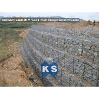 Best Galvanized Wire Gabion Retaining Walls Plastic or Stainless Steel Wire PE Coating Gabion Mattress wholesale