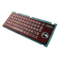 Industrial Kiosk Metal Keyboard