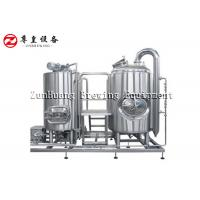 Best Thick Shell Home Microbrewery Equipment , Hotel Commercial Beer Making Equipment wholesale