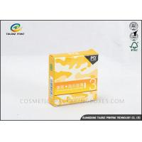 China Square Medicine Packaging Box Logo Printed Small Sized For Condom Storage on sale