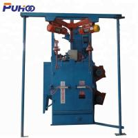 China Electric Fuel Double Hook Type Shot Blasting Machine With Compact Structure on sale