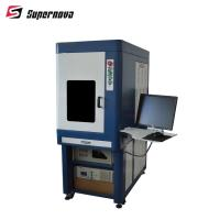 China 3w 5w 8w 10w 15w Desktop UV Laser Marking Machine For Packing Bag and IC Card on sale