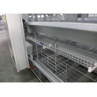 Best Commercial Poultry Egg Production Equipment 3 Rows 3 Tiers Easy Control wholesale
