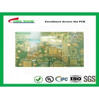 Best 14 Layer GPS PCB FR370 Quick Turn PCB Prototypes  BGA and IC pad size 350X200mm wholesale