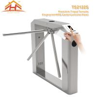 Best Semi Automatic Tripod Barrier Gate , 3 Arm Turnstile No Exposed Screws Or Fasteners wholesale