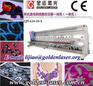 embroidery laser cutting machine
