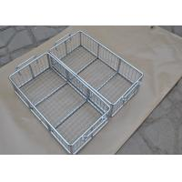 Best 304 316 316L Stainless Steel Metal Wire Basket With Polishing Food Grade wholesale