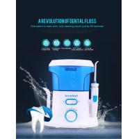 Best CE RoHS Approved Cordless Water Jet Flosser , 360 Degree Water Pressure Teeth Cleaner wholesale