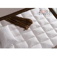 Best Luxury Hotel Mattress Toppers / King Size Bed Mattress Topper Customized Size 233T wholesale