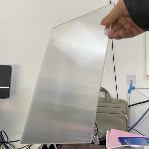 Best Plastic Lenticular 20 LPI flip lenticular effect thickness 3 mm designed for flip effect on digital printer wholesale