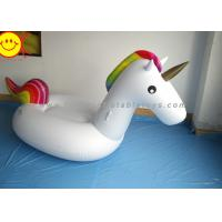 Buy cheap Sunway Unicorn Inflatable Water Floats Giant 270cm PVC Animal Pool Floating Toys from wholesalers
