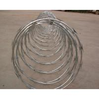 Details of high protection galvanized barbed wire coil