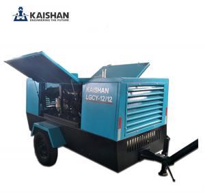 Cheap 2017 Hot sales! Kaishan air compressor/Portable diesel screw air compressor for sale