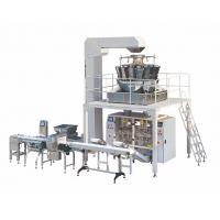 Buy cheap Automatic Vertical Form Fill Seal packaging machine for Brick Bags with Labeling from wholesalers