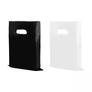 Best Gravure Printing 2.35mils Plastic Merchandise Bags LDPE With Handles wholesale