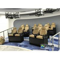 Best Genuine leather Mobile 5D Movie Theater In Truck Or Trailer Back Poking Effects wholesale