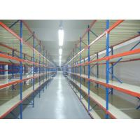 Quality Space Saving Medium Duty Racking Anti - Rust 4 Levels For Industrial Storage wholesale