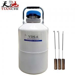 Best TIANCHI Liquid Nitrogen Tank YDS-6-50 Stainless Steel Storage Container Price wholesale