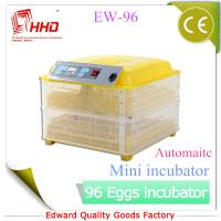 Best EW-96 Automatic Newest CE certificate automatic incubator for quail eggs for sale wholesale