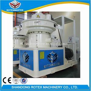 Best CE Ring Die Pellet Machine / Pine Rubber Wood Pelet Mill Production Line wholesale