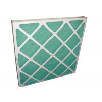 Best Electronic Furance Pleated Panel Air Filters Performance With Cardboard Frame G4 wholesale