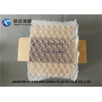 China 20 Mic Thickness Air Bubble Wraps Packaging Plastic Film For Art Objects on sale