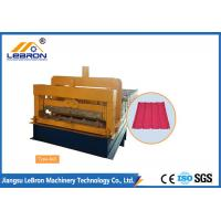 Best Steel Chrome Plated Glazed Tile Forming Machine High Production Long Time Service wholesale