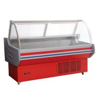 China 2°C - 8°C Deli Display Refrigerator Top Open With Back Drawers Storage on sale