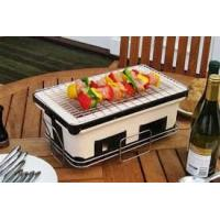 Best ST25 BBQ home use Barbecue Set Japanese charcoal ceramic BBQ grill wholesale