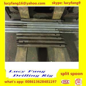 China Popular Cheapest Good Quality Split Spoon for SPT Equipment